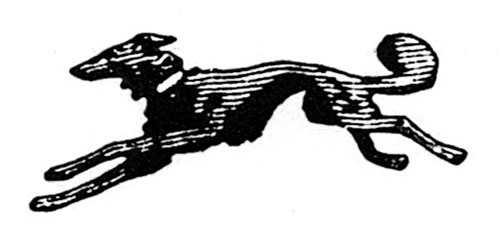 The Borzoi trademark was designed by co-founder Blanche Knopf.