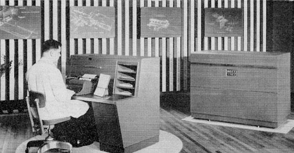 Merganthaler Linotype Company's pre-production model Lino-film